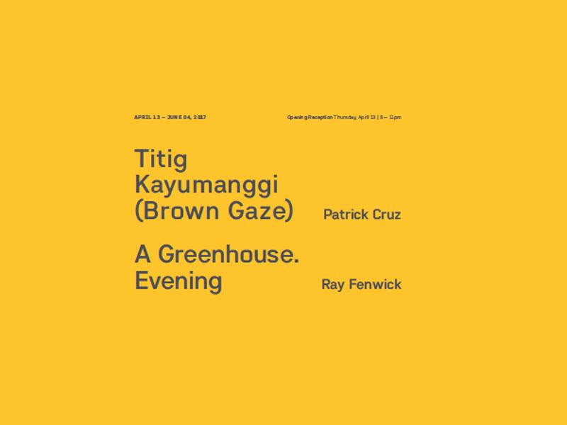 Patrick Cruz, Ray Fenwick