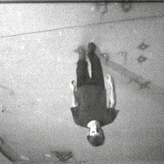 Bruce Nauman, Stamping in the Studio, 1968