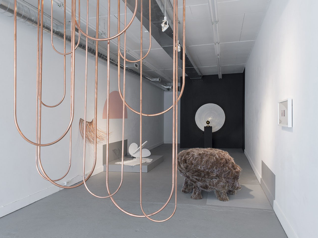 Kara Hamilton, Wane Awareless & Lifted, installation view, 2015–2016.