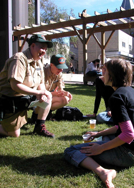Shawna Dempsey & Lori Millan, Forest Guards