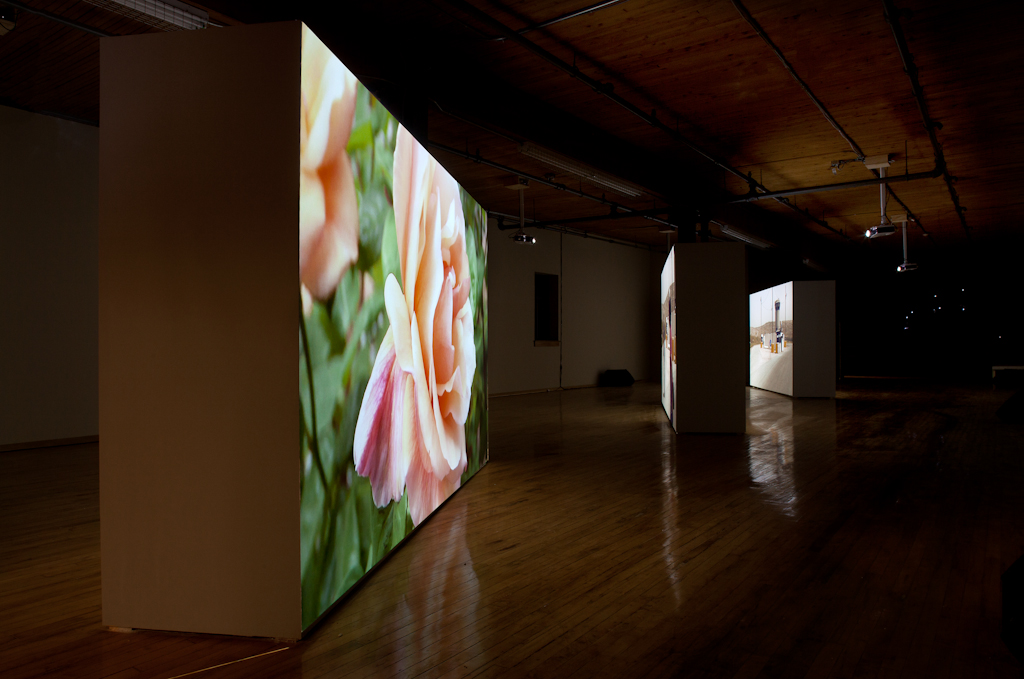 Road Movie (installation view). Courtesy of the artists and NFB.