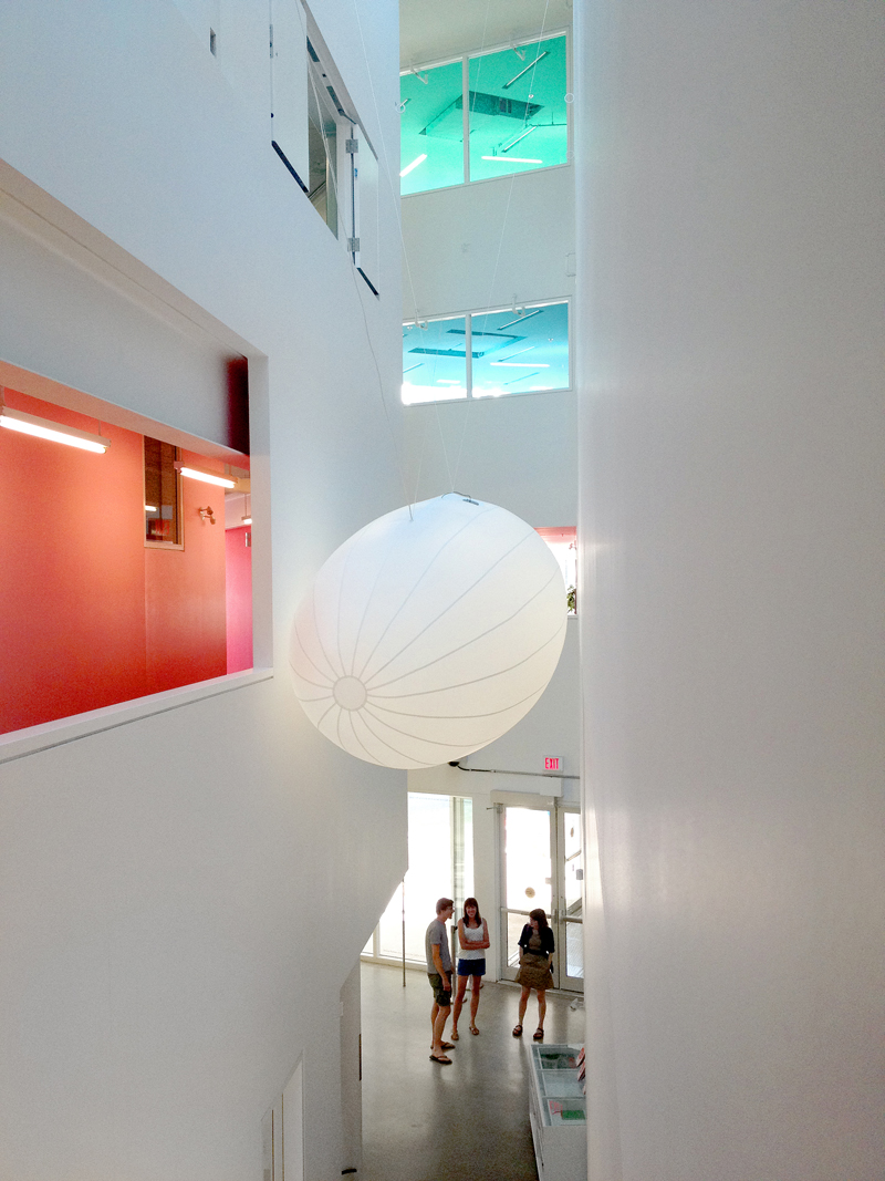 Andrew Kearny, Summer Institute 2012, inflateable