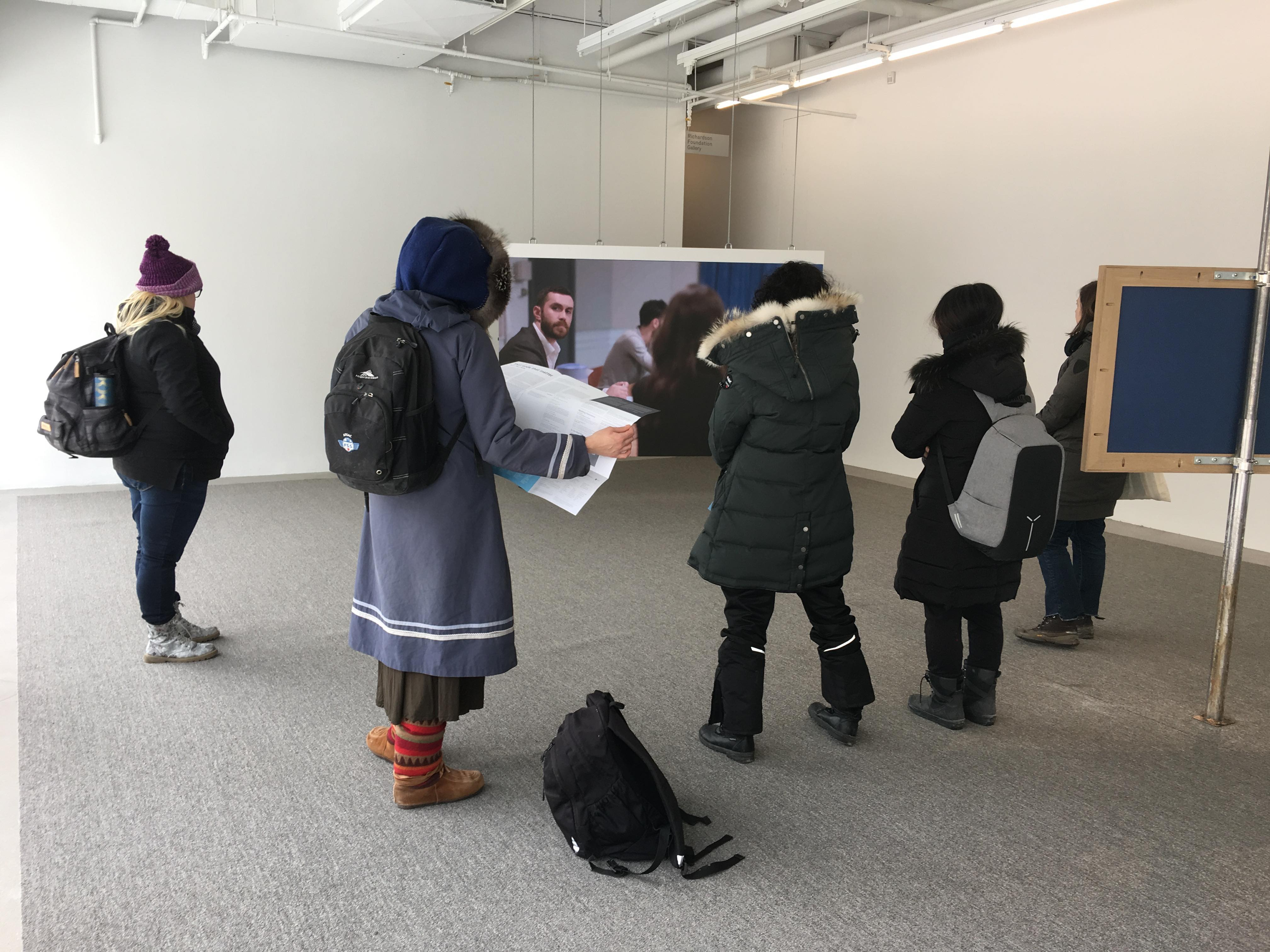 Curatorial Tour by Jenifer Papararo