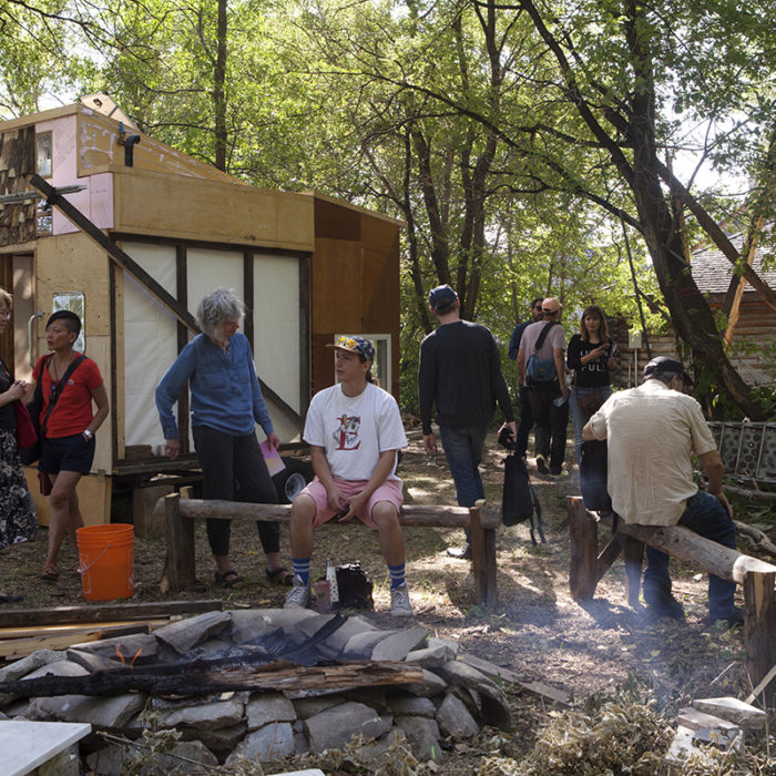 Joar Nango in collaboration with Douglas Thomas and 2019 Summer Institute participants (Lorraine Albert, Carrie Allison, Albyn Carias, Julie Gendron, Alicia Marie Lawrence, David Peters, and Evan Taylor), Uncle Doug's Fishing Shack
