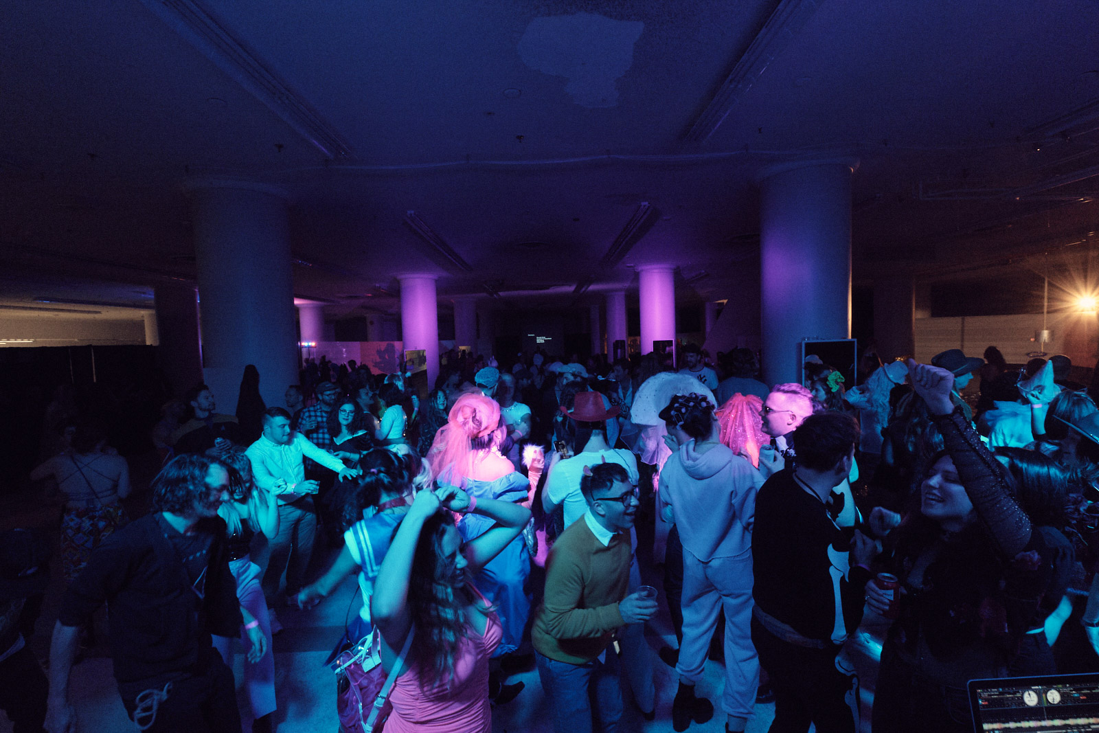 Dance floor at the 2019 GALA